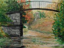 Agnesbrücke im Wörlitzer Park von Barbara Kaiser