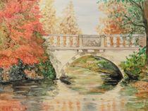 Neue Brücke Wörlitz von Barbara Kaiser