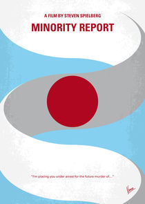 No462 My Minority Report minimal movie poster von chungkong