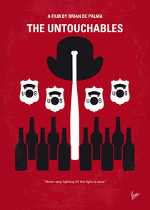 No463 My The Untouchables minimal movie poster by chungkong