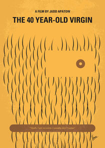No465 My The 40 Year Old Virgin minimal movie poster von chungkong