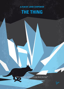 No466 My The Thing minimal movie poster von chungkong