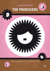 No467 My The Producers minimal movie poster von chungkong
