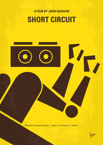 No470-my-short-circuit-minimal-movie-poster