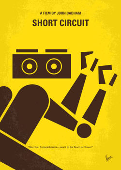 No470-my-short-circuit-minimal-movie-poster
