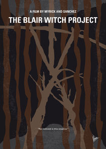 No476 My The Blair Witch Project minimal movie poster von chungkong