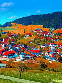 Ein Dorf sieht rot von Patrick Jobst