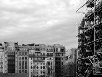 Pompidou center, Paris by Gytaute Akstinaite