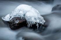 Stream under Ice by Günter Porzer