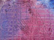 Farbvariation in rot-blau von Martin Uda