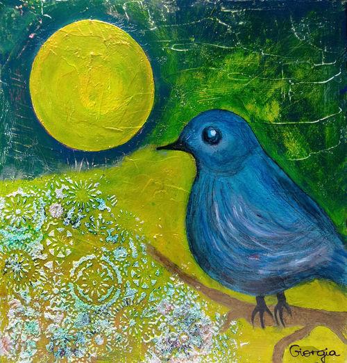 Blauer-vogel-vollmond