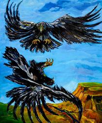 'Balzende Adler' by Eberhard Schmidt-Dranske