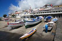 Portuguese harbour von Gaspar Avila