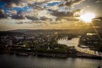 Deutsches Eck in Koblenz von hoba-fotografie