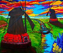 'Mühlen am Kanal' by Eberhard Schmidt-Dranske