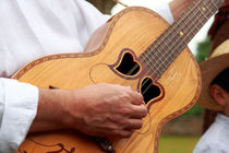 Typical Azores guitar von Gaspar Avila