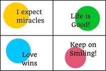 Positive Affirmations Collage  von Bright Store
