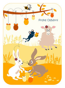 Frohe Ostern! by Birgit Boley