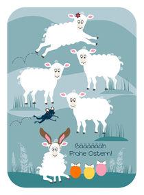Bäääääääääh Frohe Ostern! von Birgit Boley