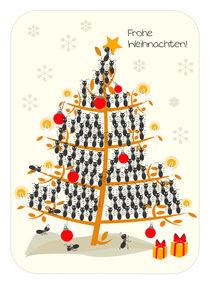 Frohe Weihnachten! von Birgit Boley