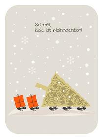 schnell, bald ist Weihnachten! by Birgit Boley