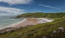 Pwll Du bay Gower peninsular von Leighton Collins