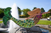 A mermaid in a norfolk botanical gardens 2 von lanjee chee
