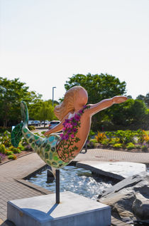 A Mermaid In A Norfolk Botanical Gardens 3 von lanjee chee