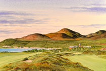 Royal County Down Golf Course 9th hole by bill holkham