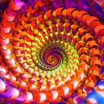 Colorful spiral by Gaspar Avila
