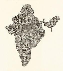 India-sepia