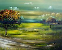Landschaft von Gena Theheartofart