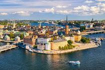 Gamla Stan in Stockholm von Michael Abid
