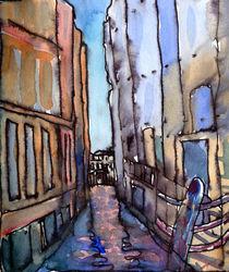 Narrow Canal Venice von Elizabetha Fox