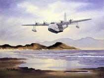 Sunderland Aircraft Over Scotland by bill holkham