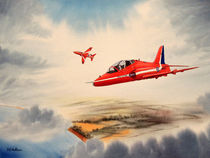Hawk Aircraft - The Red Arrows von bill holkham