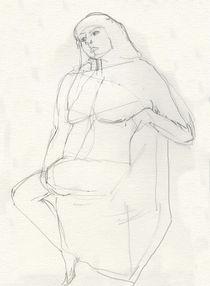 Girl Thinking  by Elizabetha Fox