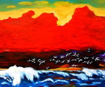 Vogelschwarm von Eberhard Schmidt-Dranske