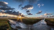 Sundowner im Vorland von nordfriesland-und-meer-fotografie