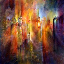 Es wird Licht in den Gassen - Variation 1 von Annette Schmucker