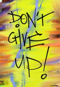 Don't Give Up! by Vincent J. Newman