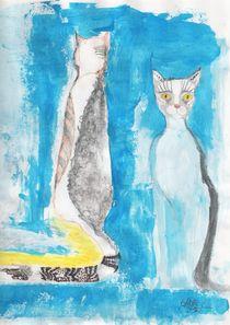 Straycat Malerei  von deern-vun-diek