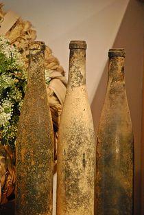 'old wine bottles... 2' by loewenherz-artwork