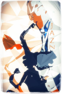 Jazz Sax Poster von cinema4design