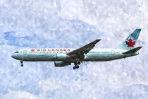 Air Canada Boeing 767 Art by David Pyatt
