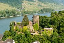 Burg Heimburg in Niederheimbach 7 von Erhard Hess