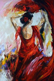 Flamenco by Gena Theheartofart
