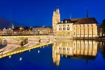 Night in Zurich von Michael Abid