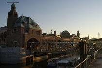 Landungsbrücken am Morgen von Maic Gronych