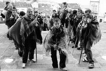 Pilgrims in Azores by Gaspar Avila